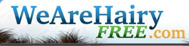 Wearehairyfree logo