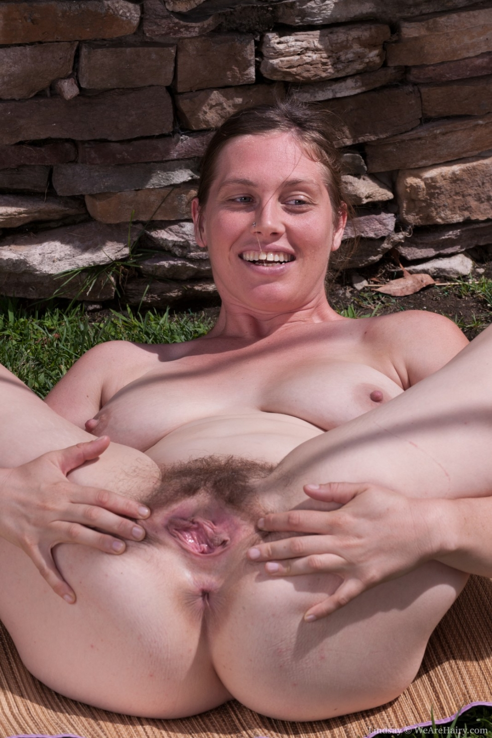 hairy sex outdoor video