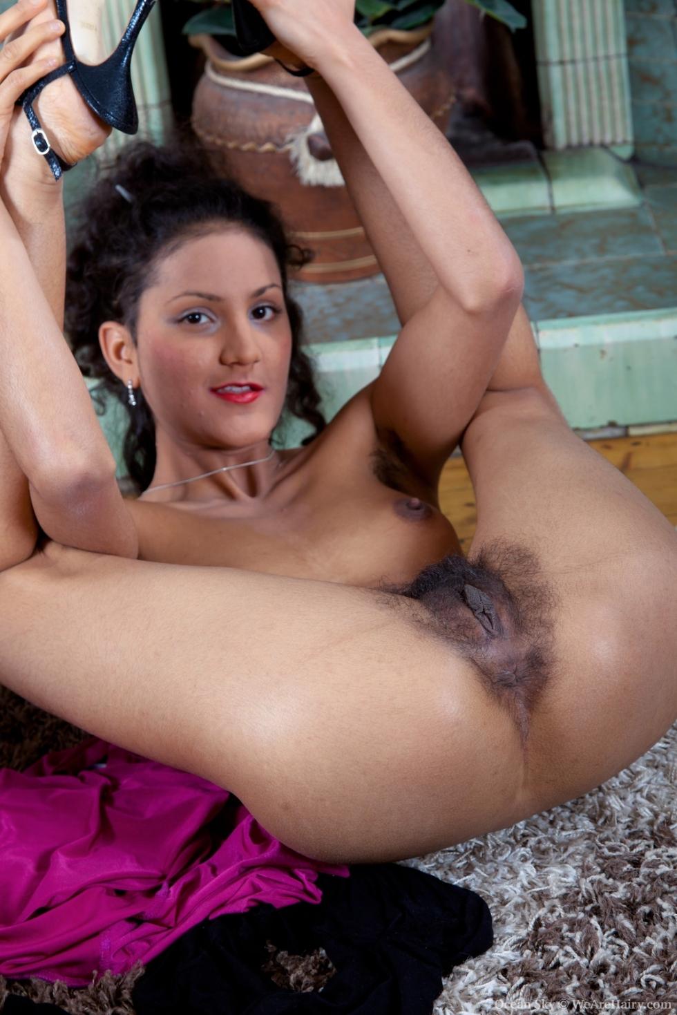 Mujeres indias peludas
