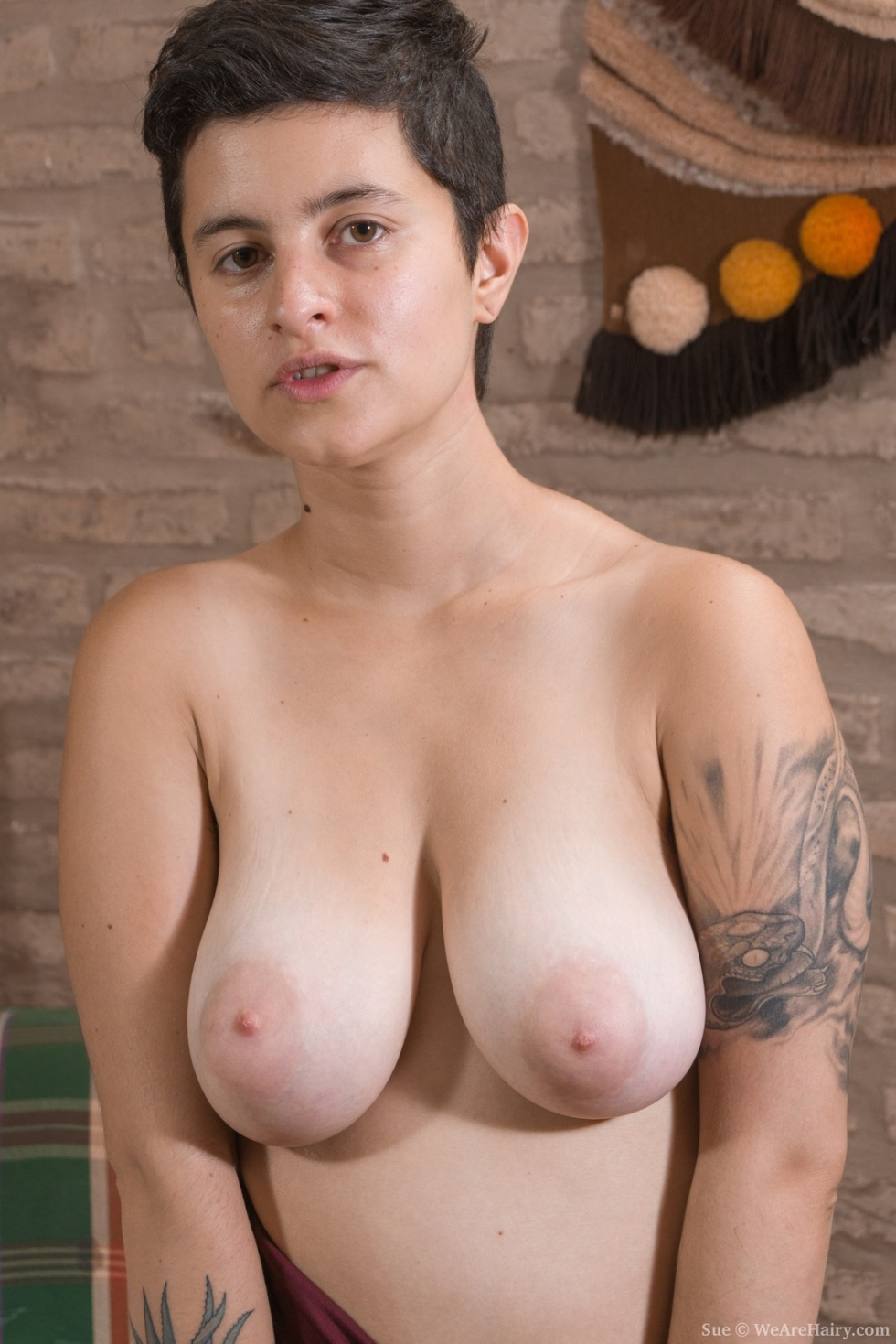 with Nude nipples girls hairy