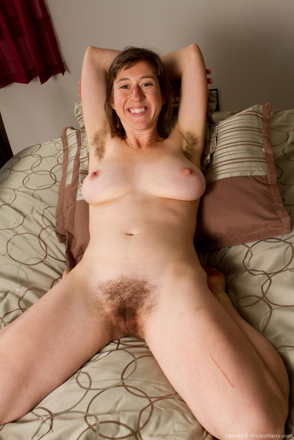 Hairy bush legs