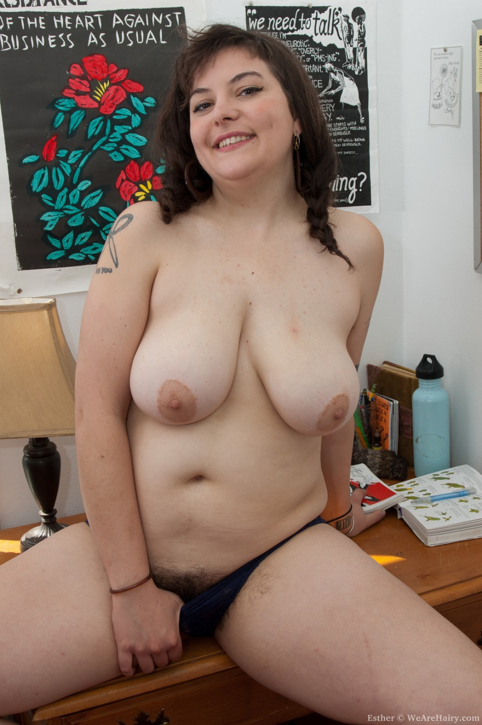 thick girl with hairy pussy