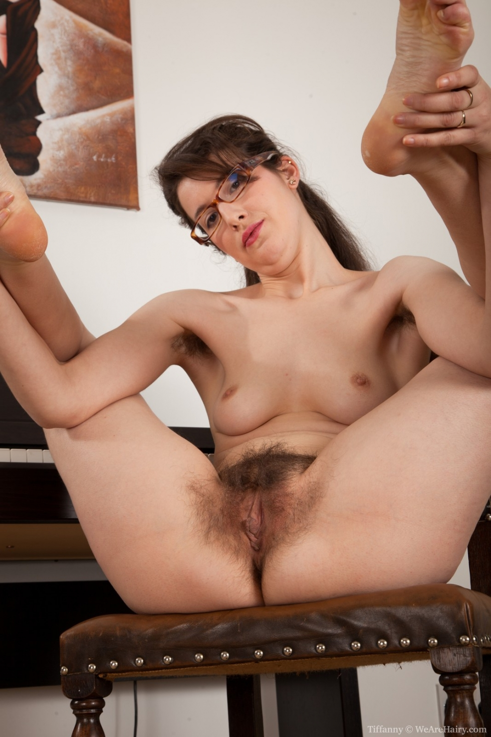 a hairy pussy